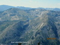 Goat Lakes from Diablo Peak-Hoodoo-ID